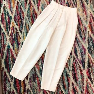 Massimo Dutti NWOT pleated tapered pants